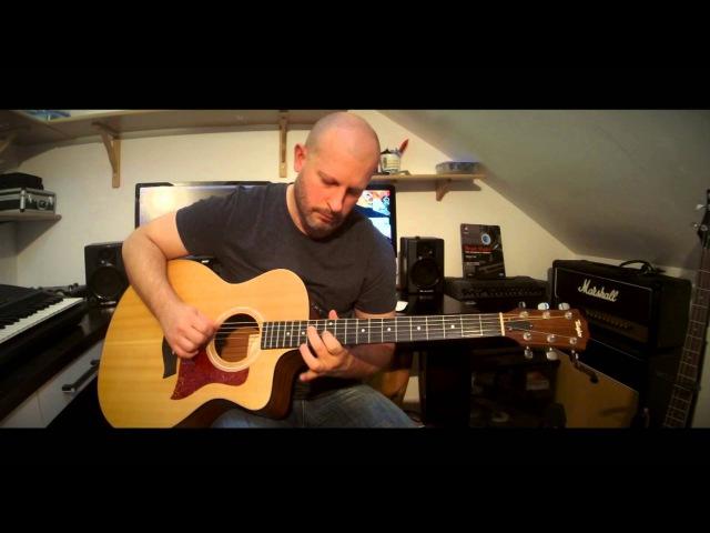 Creeping Death Metallica Acoustic Guitar Cover w Solo