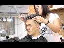Мужская стрижка и камуфлирование седины итальянским lisap man