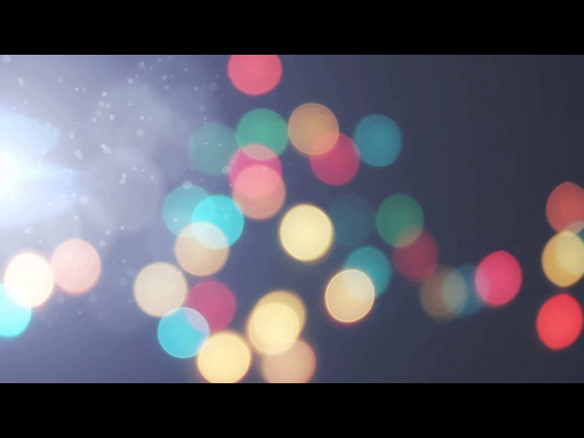 Фон для видеомонтажа Video Background Bokeh