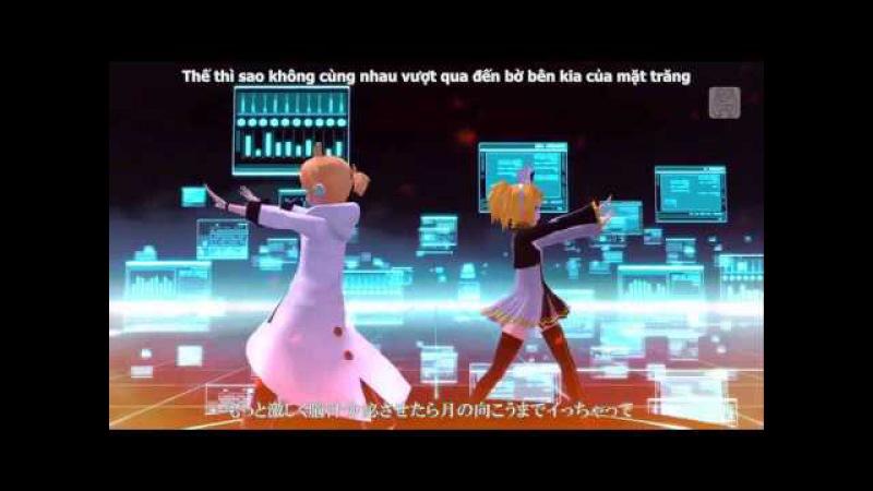 【Yue Moon】Spinal Fluid Explosion Girl - Kagamine Rin ft Kagamine Len ( Project DIVA )【Vietsub】