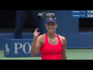Angelique Kerber Massive Match Point VS Roberta Vinci - US Open (06.09.2016)
