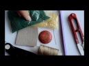 Как вышить оправу для кабошона бисером Мастер класс