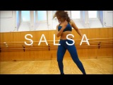 Fatna ZUMBA Salsa + Step by step La Gozadera - Marc Anthony ft Gente de Zona