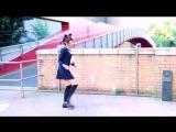 Танец кавайной японской школьницы