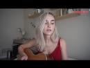 Красивая девушка классно спела кавер `Cold Water - Major Lazer ft. Justin Bieber`cover,красивый голос,хорошо поёт,отлично спела