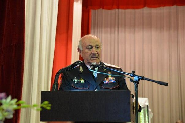 Казачий генерал в Зеленчукской