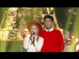 151225 Irene (Red Velvet) &amp Park Bo Gum - Jingle Bell Rock (Bobby Helms Cover) @ Music Bank Christmas Special