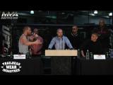 Конор Макгрегор - Нэйт Диаз: Разборки на пресс-конференции UFC 196 (Лучшие моменты)