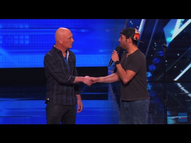 Shocking Audition By Chris Jones, He Makes Howie Hypnotized Americas Got Talent 2015