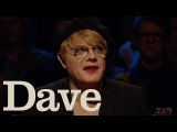 Eddie Izzard Stole Makeup  Alan Davies As Yet Untitled  Dave