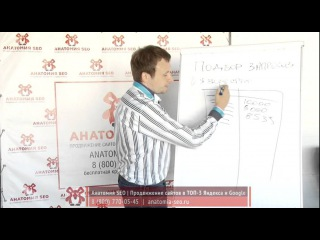Урок №23: Подбор запросов. Видеокурс Магия SEO: изучение SEO по 5 минут в день. Анатомия SEO