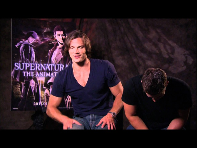The whole Jared and Jensen interview - Supernatural The Animation