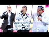 SHUKUR SHOU - Parodiya Sardor Mamadaliyev, Jahongir Otajonov, Botir Qodirov (NAVO SHOU)