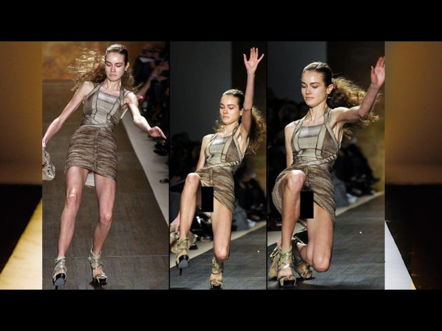 Падения на подиуме Почему модели падают на подиуме