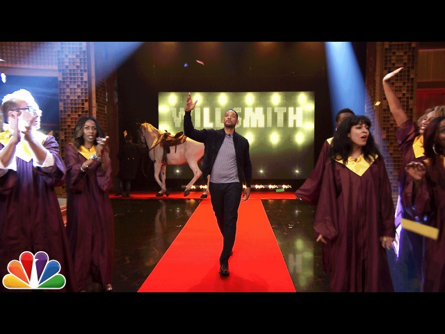 Will Smiths Awesome Tonight Show Entrance