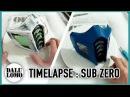Timelapse - Making Mortal Kombat Sub Zero Mask DIY Cosplay