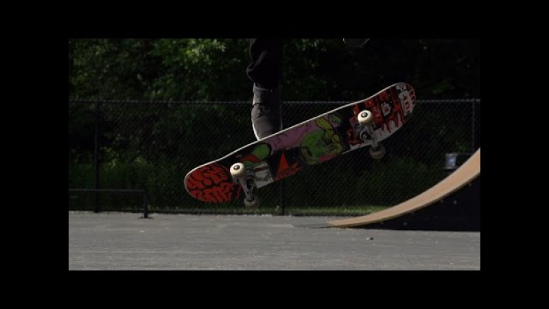 Skateology: halfcab late kickflip with Joe Vizzaccero