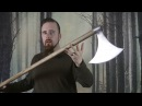Review Danish War Axe by Arms Armor Cuts like a polesword technical term p