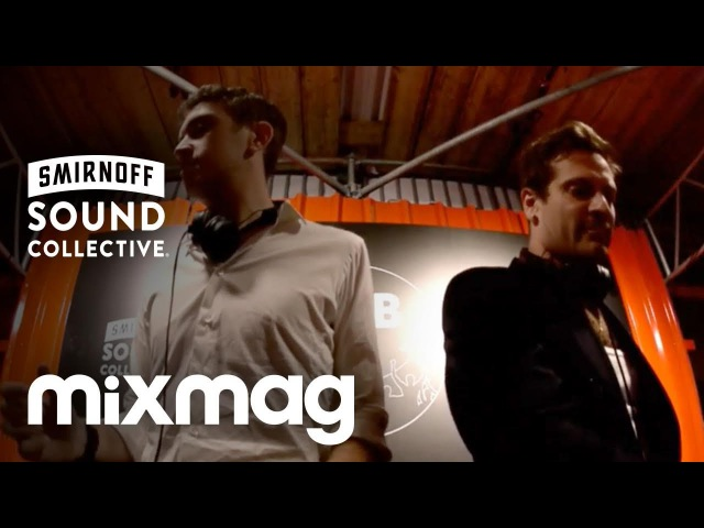 FLIGHT FACILITIES (Hugo) b2b TOUCH SENSITIVE in The Lab at smirnoffhouse