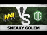 Sneaky golem - Na`Vi vs OG @ Starladder | i-League EU