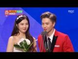 [OTHER] 29.12.2015: Благодарственная речь Сончжэ и Джой @ MBC 2015 Entertainment Awards