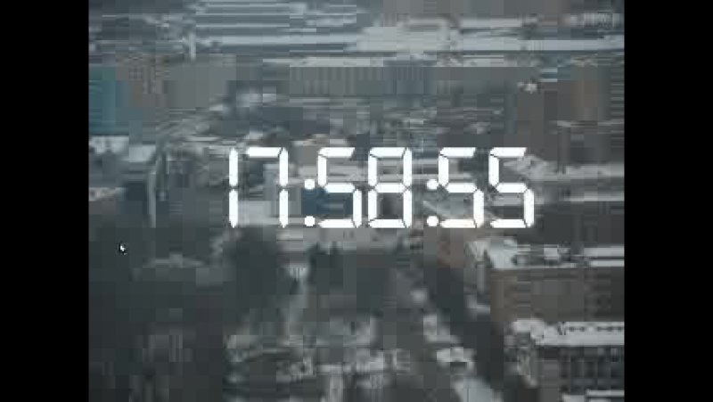Начало эфира ИК Музыка и общение Часы (так же использовались на ВЫБОР А перед Музыкальным вечером по вашим заявкам