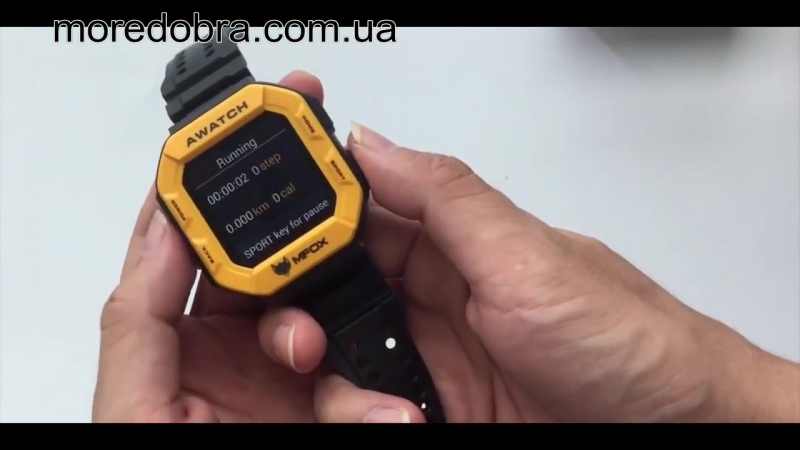 Смарт-часы MFOX AWatch