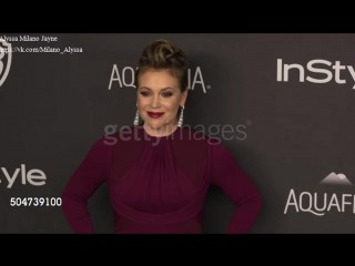 Alyssa Milano at the 17th Annual InStyle And Warner Bros. Pi