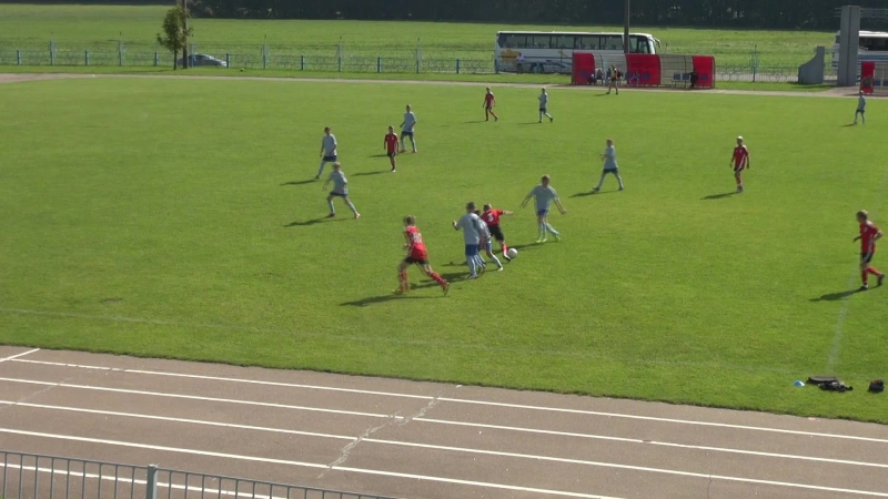2016-08-20 Тов.матч Звезда-2004 vs Клецк-2003 1-й тайм