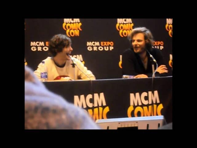 Comic Con 2013: Alex Vlahos, Eoin Macken and Rupert Young Part 2