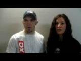 Bryan Caraway and Miesha Tate talk to Fast Eddie