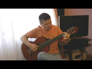 J. Gade / А. Гадэ: Gypsy Tango / Цыганское танго 'Jalousie' on guitar.