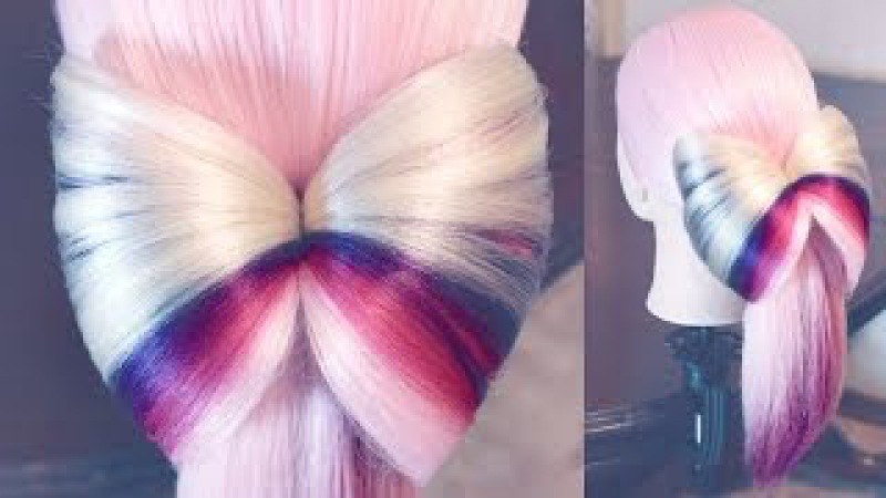 Оформление хвоста - Бант - Hairstyles by REM
