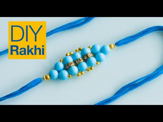 How to make rakhi | rakhi design for Raksha Bandhan