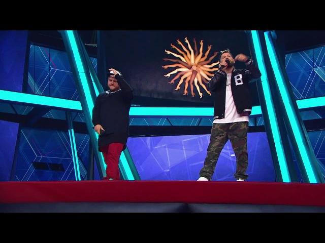 Comedy Баттл Последний сезон Дуэт Здарова полуфинал