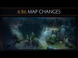 Dota 2 6.86 Map Changes