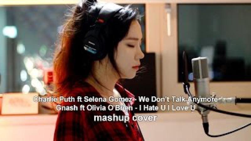 We Dont Talk Anymore I Hate U I Love U ( MASHUP cover by J.Fla )