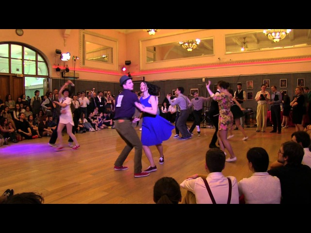 Lindy Hop Newcomer Strictly Finals at Russian Swing Dance Championship 2016