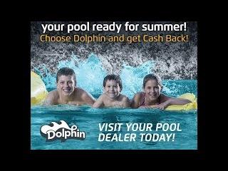 Büyük havuzlar için Dolphin Wave 100 havuz robotu
