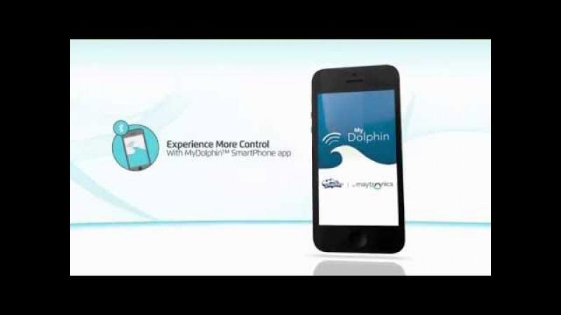 Cep telefonu ile dolphin havuz robotu kontrolü