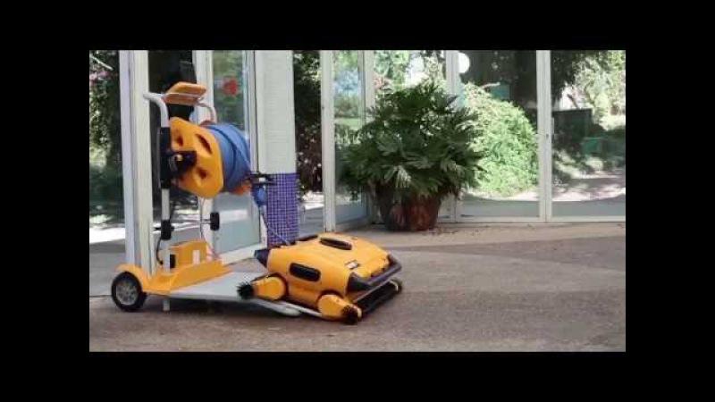 Dolphin wave 300 xl olimpik havuz robotu siz zahmet etmeyin sizin yerinize havuzu temizler
