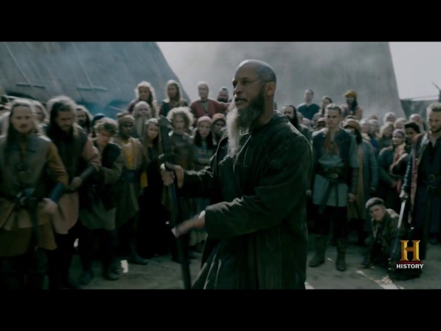 Vikings - Ragnar returns to village (who wants to be king)