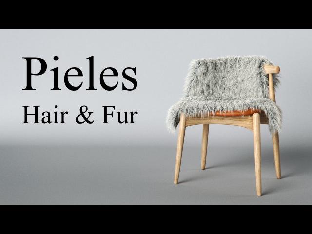 Hair Fur tutorial de pieles Vray