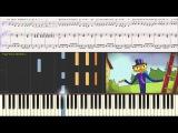 Трубочист - Ксения Мулина (Ноты для фортепиано) (piano cover)