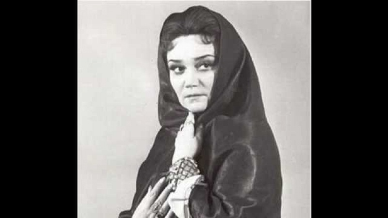 Tamara Sinyavskaya sings Lyubasha's Aria-2 Act- Tsars' Bride