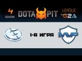 Evil Geniuses vs MVP Phoenix #1 (bo5) | Dota Pit 4, 20.03.16