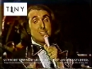 """Tiny Tim singing """"Me And Man On The Moon"""" on The Tonight Show in 1974"""