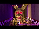 SFM- Madness of colours - Roomie - Five Nights At Freddys 3 song