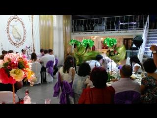 Нежно-цветочная свадьба гармоничной пары Альберта и Резеды?? ВАЛЬС