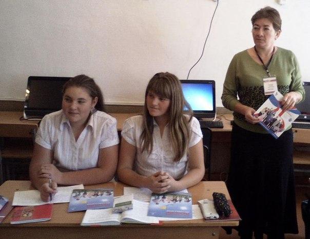 Для школьников станицы Кардоникской и хутора Ново-Исправненский провели уроки пенсионной грамотности
